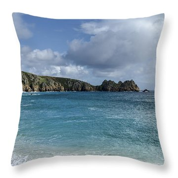Cornwall's Beauty Throw Pillow