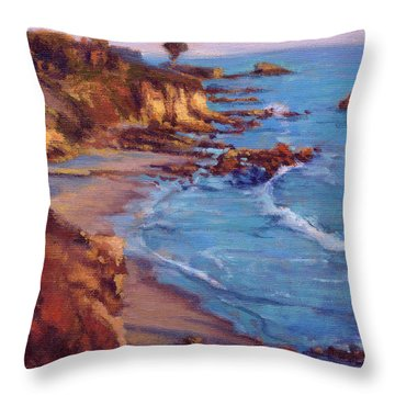 Corona Del Mar / Newport Beach Throw Pillow