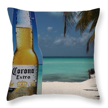 Corona Throw Pillow