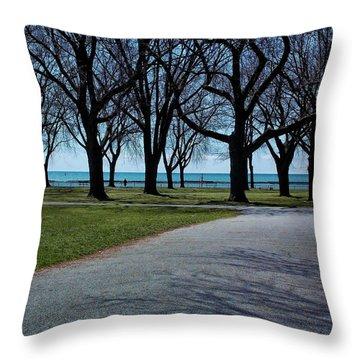 Coronation Park Throw Pillow by Nicky Jameson