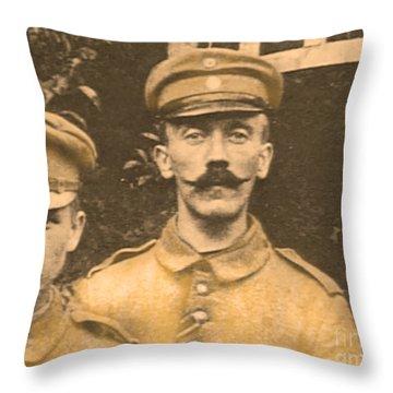 Corporal Adolf Hitler Throw Pillow