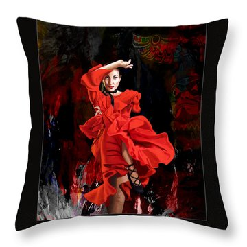 Corporate Art 004 Throw Pillow by Catf