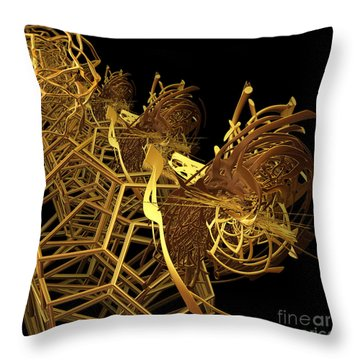 Corporate Ladder By Jammer Throw Pillow by First Star Art