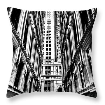 Corporatocracy Throw Pillow
