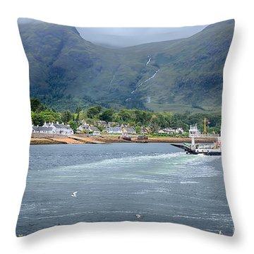 Corran Ferry Throw Pillow