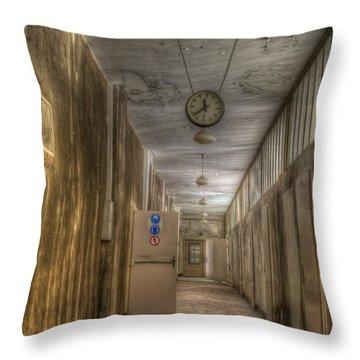 Corridor Of Power Throw Pillow