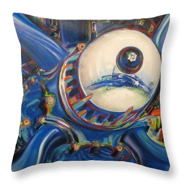 Corsair Radial Throw Pillow