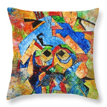Cortes 748 - Marucii Throw Pillow