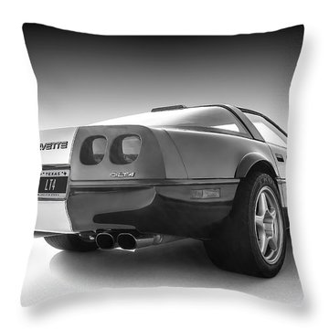 Corvette C4 Throw Pillow