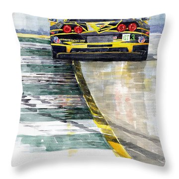 Corvette C6 Throw Pillow