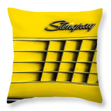 Corvette Gills Throw Pillow