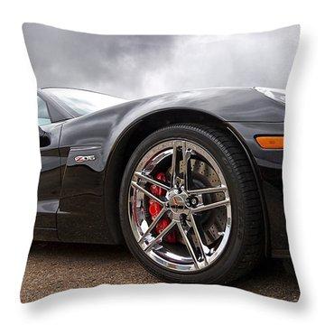 Corvette Z06 Throw Pillow