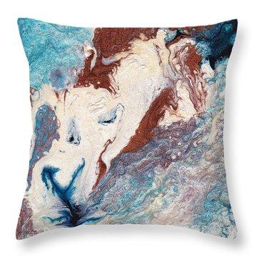 Cosmic Blend Four Throw Pillow