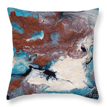 Cosmic Blend Two Throw Pillow