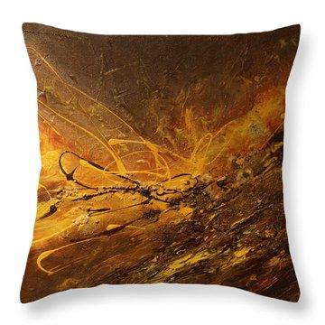 Cosmic Energy Throw Pillow