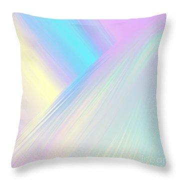 Cosmic Light Throw Pillow