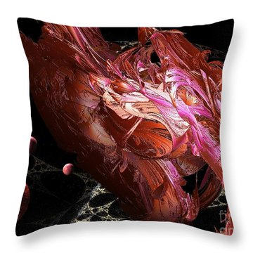 Cosmic Planets Throw Pillow
