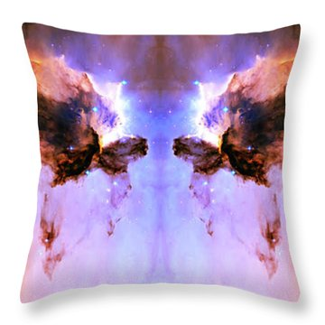 Cosmic Release Throw Pillow by Jennifer Rondinelli Reilly - Fine Art Photography