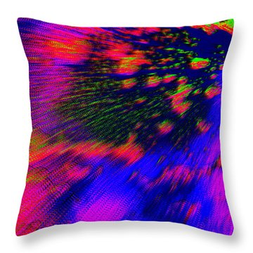 Cosmic Series 010 Throw Pillow