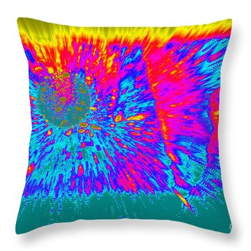 Cosmic Series 022 Throw Pillow