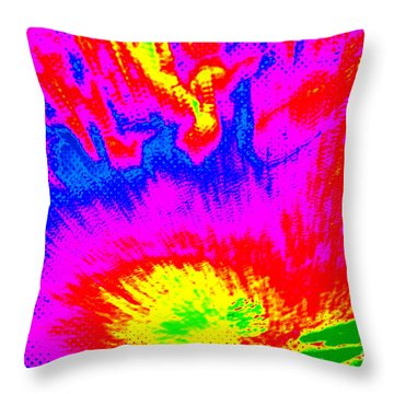 Cosmic Series 023 Throw Pillow