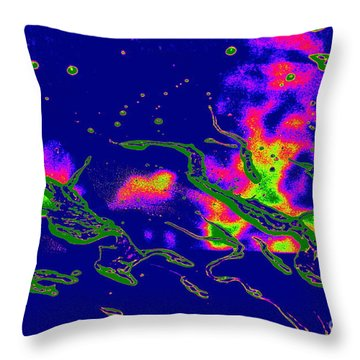 Cosmic Series 025 Throw Pillow
