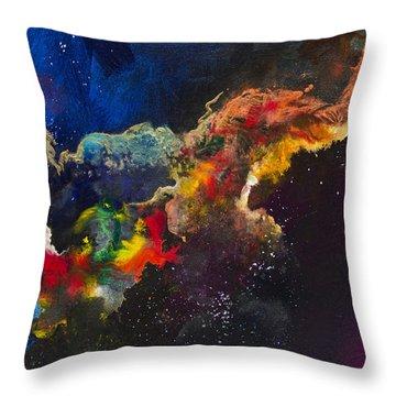 Cosmic Voyage #203 Throw Pillow