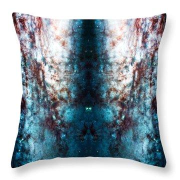 Cosmic Winter Throw Pillow by Jennifer Rondinelli Reilly - Fine Art Photography
