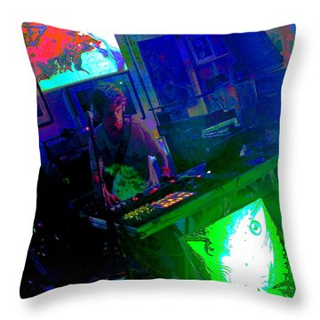 Cosmol II Throw Pillow by Jesse Ciazza