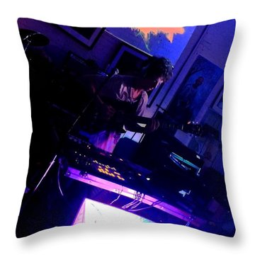 Cosmol Throw Pillow by Jesse Ciazza