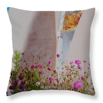 Cosmos At The San Francisco De Asis Church Throw Pillow