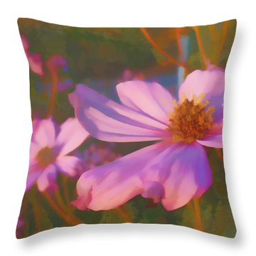 Cosmos Twilight Throw Pillow