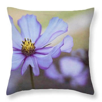 Cosmos Dream Throw Pillow by Arlene Carmel