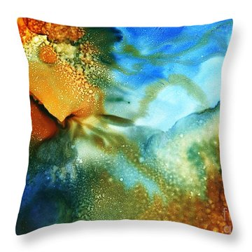 Cosmos I Throw Pillow