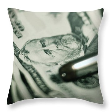 Cost Of One Bullet Throw Pillow