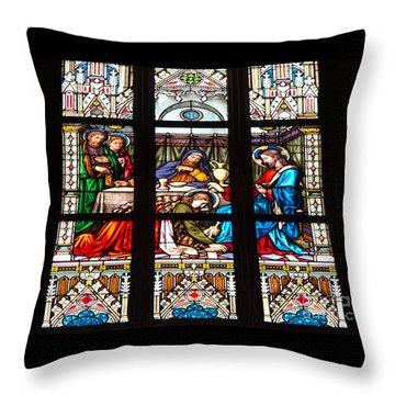 Costly Devotion Throw Pillow by Ann Horn