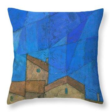 Cote D Azur II Throw Pillow