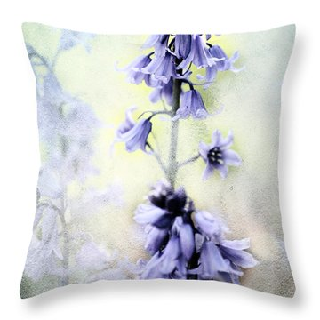 Cottage Garden Four Throw Pillow by Bonnie Bruno
