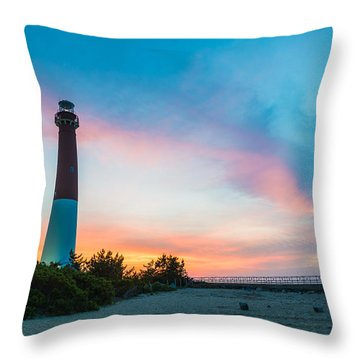 Cotton Candy Day Throw Pillow