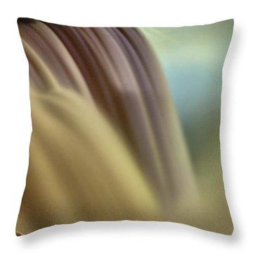 Cotton Candy Falls Throw Pillow