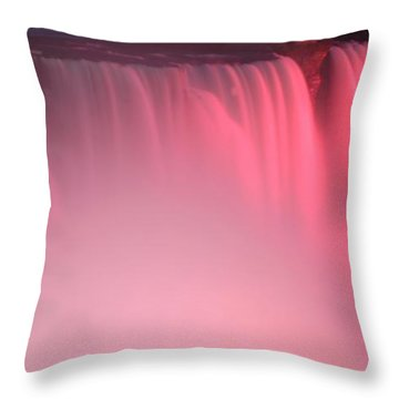 Cotton Candy Throw Pillow by Kathleen Struckle