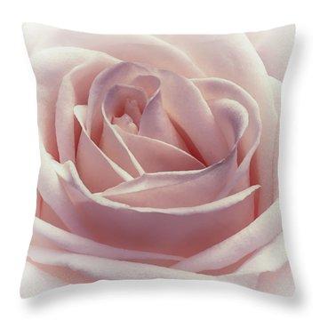 Cotton Candy Kisses Throw Pillow by Darlene Kwiatkowski