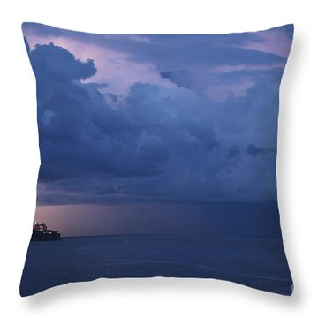 Throw Pillow featuring the photograph Cotton Club by Erhan OZBIYIK