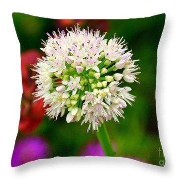 Cotton Top Throw Pillow