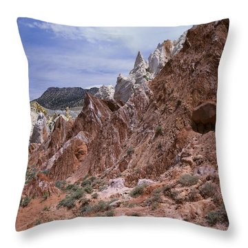Cottonwood Spires 1 Throw Pillow