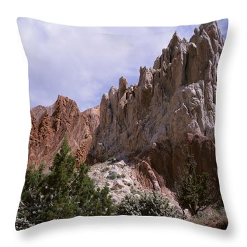 Cottonwood Spires 2-sq Throw Pillow