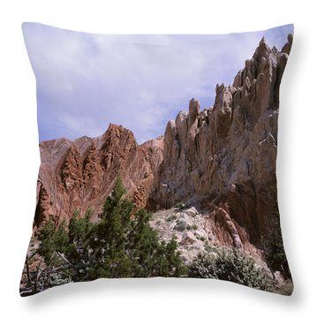 Cottonwood Spires 2 Throw Pillow