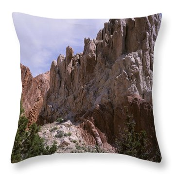 Cottonwood Spires 2-v Throw Pillow