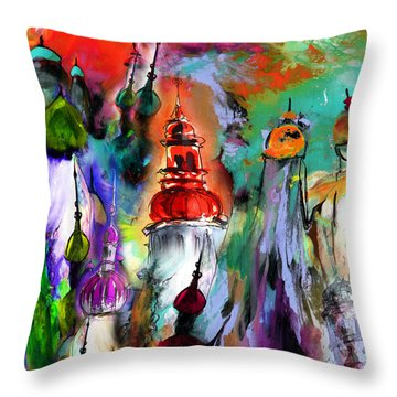 Could Be Saint Petersburg Throw Pillow