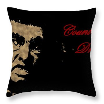 Count Dracula Visits Halifax Throw Pillow by John Malone